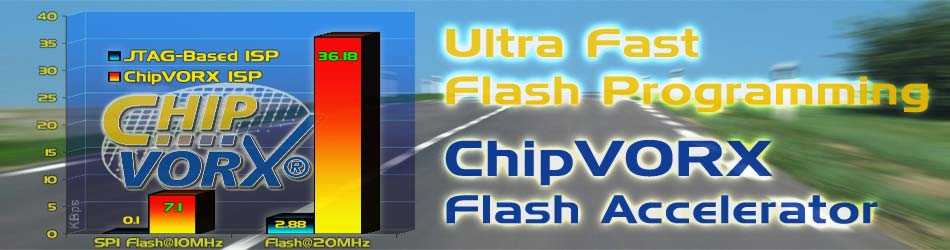 ChipVORX ISP IP for Ultra Fast Flash Programming