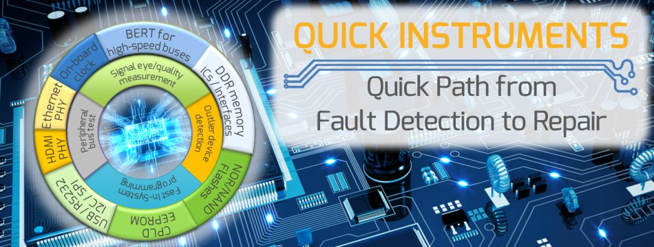 Quick Instruments - a new way for board- and system-level test